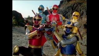 Power Rangers Ninja Storm - Power Rangers vs Vexacus and Shimazu | Episode 33