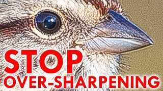 STOP OVER-SHARPENING
