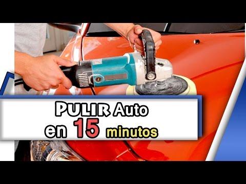 Tutorial como pulir un auto facil y rapido en 15 minutos