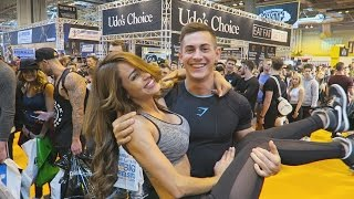 MY FIRST EVER FITNESS EXPO!!