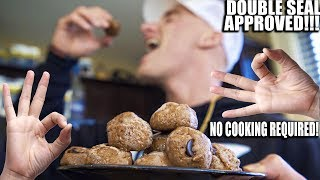 Cookie Dough Protein Balls   Healthy No Bake Low Carb Recipe