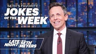 Seth's FavoriteJokesoftheWeek: White House Honors Military Dog, Trump Pardons a Turkey