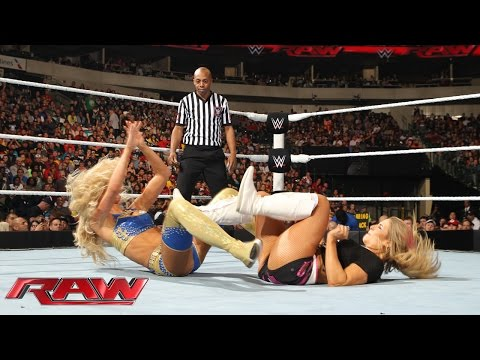 Xxx Mp4 Natalya Paige Vs Alicia Fox Summer Rae Raw January 19 2015 3gp Sex