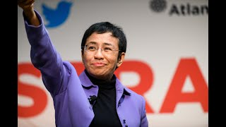 "#StratComDC: Maria Ressa on ""Fighting Back with Data"""