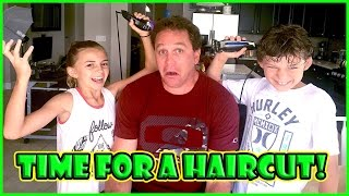 THE KIDS SHAVE SHAWN'S HEAD | 10K SUBSCRIBER CELEBRATION | We Are The Davises