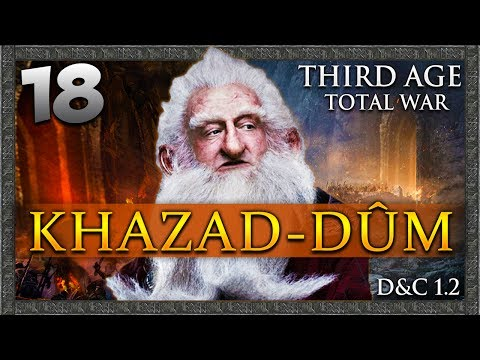 ASSAULT ON GOBLIN TOWN! Third Age Total War: Divide & Conquer - Khazad-dûm Campaign #18