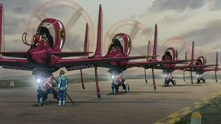 The Wings of Honnêamise - Top Gun cover (AMV)