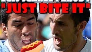 Luis Suarez parody