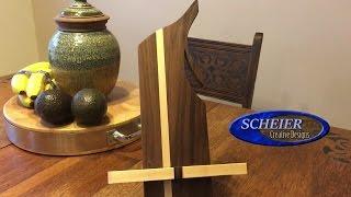 iPad stand/ holder / Diy Woodworking