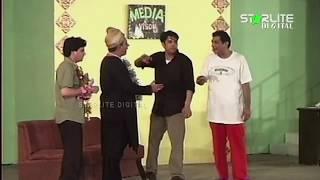Tariq Teddy, Naseem Vicky and Sakhawat Naz New Pakistani Stage Drama Full Comedy Clip