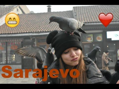 Sarajevo - Napali nas golubovi, sve nas pojeli i sletali nam na glavu OMG!!! - Episode 13