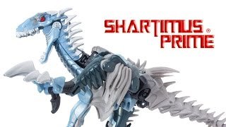 Transformers The Last Knight Slash Premier Edition Deluxe Class Movie Hasbro Dinobot Figure Toy Revi