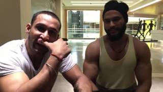 Indian Fitness model talk about diet and training  Hindi