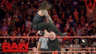 Roman Reigns vs. Kevin Owens: Raw, Sept. 12, 2016