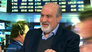 Nassim Taleb Says Investors Need 'Insurance' From Market Drops
