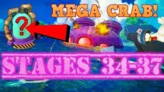 MEGA CRAB STAGES: 34 35 36 37 :: LEADER-BOARD BATTLE! :: BOOM BEACH MEGA CRAB 6