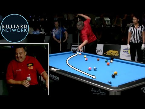 MOST UNBELIEVABLE RUN OUT EVER 8 Ball By Chris Melling
