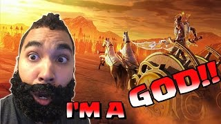 WATCH ME FIGHT AGAINST THE GODS!!!  - LOA - Awesome Mobile game!!