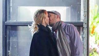 Jennifer Lawrence and Darren Aronofsky Kissing