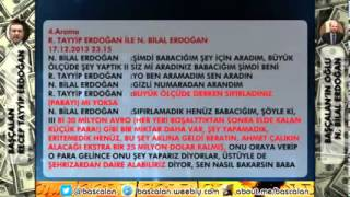 Başçalan Recep Tayyip Erdoğan - Bilal Erdoğan: Paralari sifirladin mi?