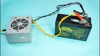 How to Make 12v Battery Charger With Old SMPS