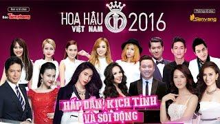 Hoa hậu Việt Nam 2016 - Trực tiếp chung khảo phía Nam lúc 20h 12/06/2016