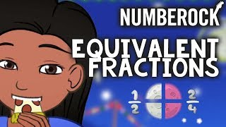 Equivalent Fractions Song by NUMBEROCK