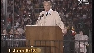 Billy Graham - How to live forever - Columbus OH