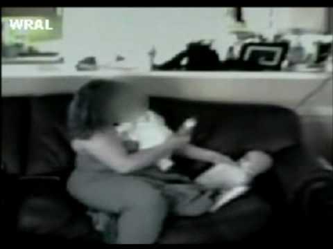 Child Abuse - Nanny Caught On Tape