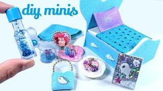 DIY Mermaid Miniatures - Liquid Lava Lamp, Barbie Skirt, Bed & More!