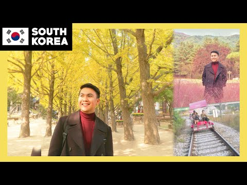 AUTUMN in KOREA 🇰🇷🍁 Nami Island Gangchon Rail Park The Garden of Morning Calm 🌸 TricksterzPH