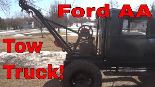 Ford AA Tow truck