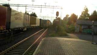 El 14 arrives Sundland after stopping at red signal