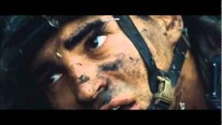 Battle Los Angeles - Lieutenant's Death Scene HD