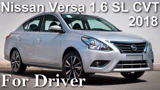 Nissan Versa 1.6 SL CTV XTronic 2018 Todos os detalhes Canal For Driver