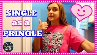 SINGLE AS A PRINGLE... THE ONLY ONE LEFT!