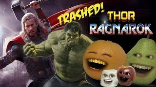 Annoying Orange - THOR: Ragnarok TRAILER Trashed!!