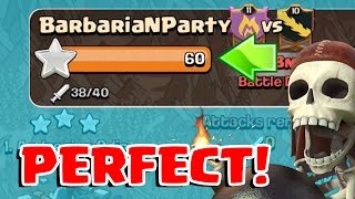 3 STAR EVERY BASE | Clash of Clans | How to get a Perfect War