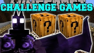 Minecraft: DARK OPAL DEMON CHALLENGE GAMES - Lucky Block Mod - Modded Mini-Game