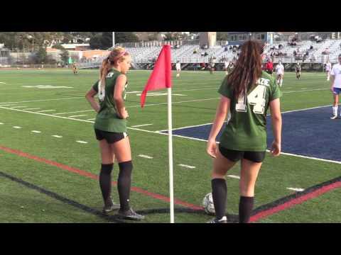 2016 Girls Soccer CIF Playoffs Second Round Royal High vs El Segundo