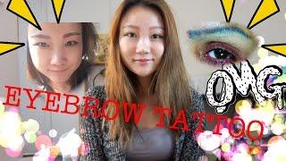 ♡3D Eyebrow Tattoo♡ Korean Semi-permanent Makeup