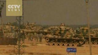 Turkey strikes ISIL as tensions mount near Syria border