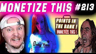 MONETIZE THIS #213 - Double or Nothing !! ( Points in the BANK )