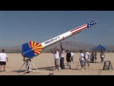 Hillbilly LDRS 26 High Power Rocket Launch