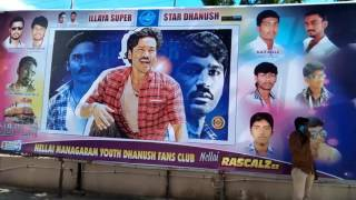 Thodari nellai district dhanush fans club