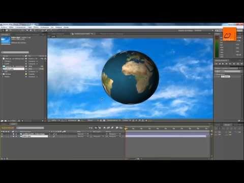 Tutorial After Effects Crear planeta tierra 3D