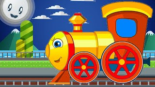 Learn Colors with Train and Friends - Learning Train Color for Baby Toddlers, Kids and Children