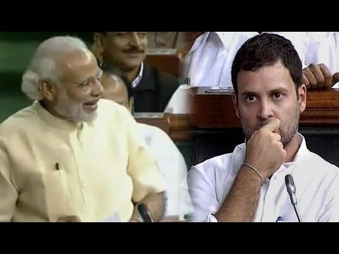 PM Modi Makes Fun of Rahul Gandhi in Lok Sabha