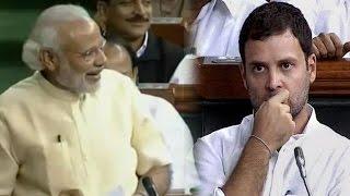 PM Modi Makes Fun of Rahul Gandhi in Lok Sabha