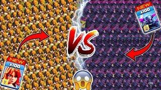 Max Valkyrie vs Max Pekka 🔥🔥 Clash of Clans Ultimate Battle   Max Pekka vs Max Valkyrie